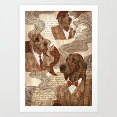 Repitition Art Print