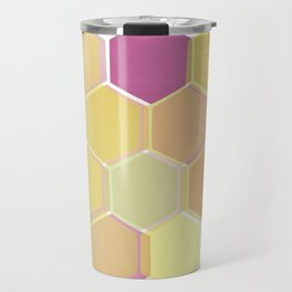 Layered Honeycomb 002 Travel Mug