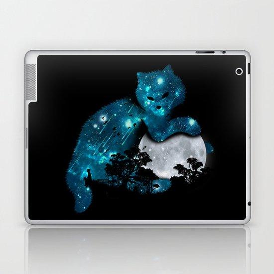 I can haz the moon Laptop & iPad Skin