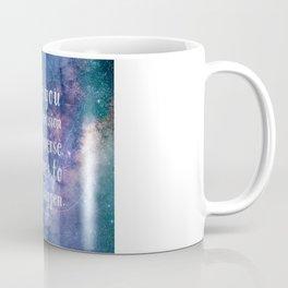 The universe conspires Coffee Mug