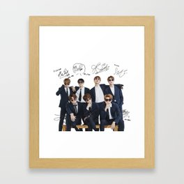 BTS Framed Art Print