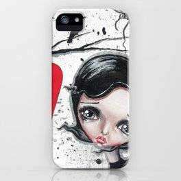 Sing Me A Song iPhone Case
