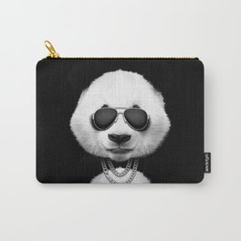 Panda in black Carry-All Pouch