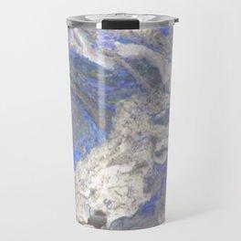 Arabescato-Orobico-Blue-Marble Travel Mug