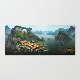 -Hometown- Canvas Print