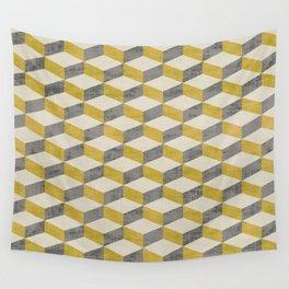 PETRA SUGAR GOLD Wall Tapestry