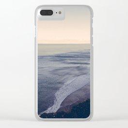 Vintage Ocean 05 Clear iPhone Case