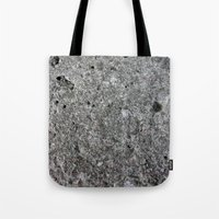 concrete Tote Bags featuring concrete by Seed Margarita