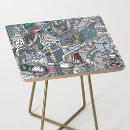 The American Football Media Factory Side Table