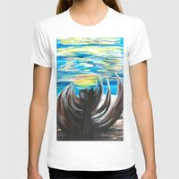 shell T-shirts featuring Shell by Katrina Berkenbosch