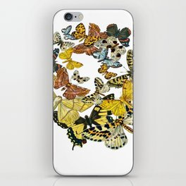 A Kaleidoscope Of Vintage Butterflies Vector iPhone Skin