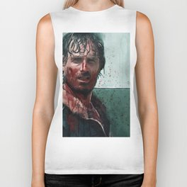 Don't Mess WIth Rick Grimes - The Walking Dead Biker Tank