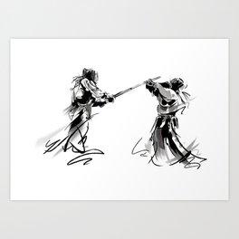 Kendo Art Print