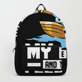 Sailing Boat Sea Rhyme Sailing Boat Backpack
