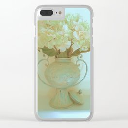Vintage Southern Charm Clear iPhone Case