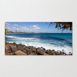 Gold Coast Skyline Canvas Print