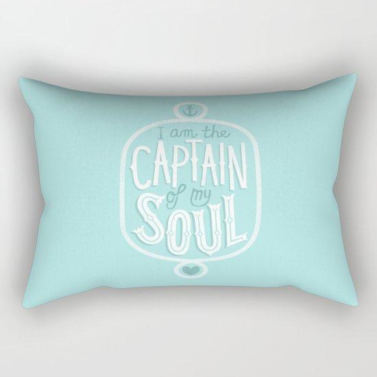 I am the Captain of my Soul Rectangular Pillow
