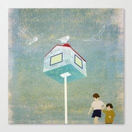 Vacances Canvas Print