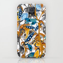 Multicolor Horse Feathers iPhone Case