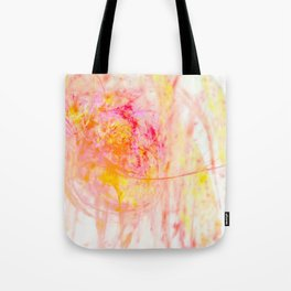 My heart fountains color Tote Bag