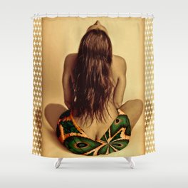 Lei Victorious Shower Curtain
