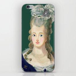 Marie Antoinette portrait iPhone Skin