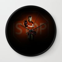 community Wall Clocks featuring community services by Radio