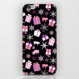 Piggy Pattern Presents iPhone Skin