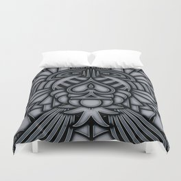 Ace of Tribes IRON Duvet Cover