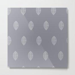 Leaves pattern Metal Print