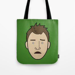 Faces of Breaking Bad: Jesse Pinkman (Early) Tote Bag
