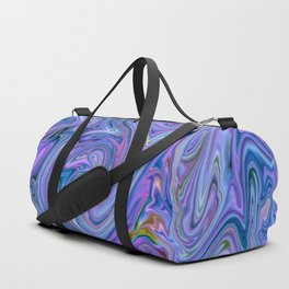 creamy Colors, blue Duffle Bag