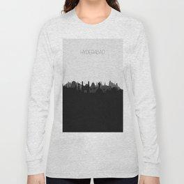 City Skylines: Hyderabad Long Sleeve T-shirt