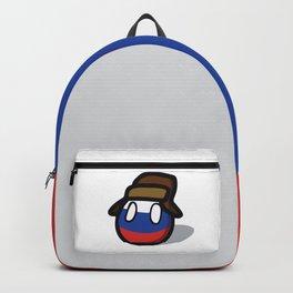 Russia Polandball memes Russian Flag Backpack