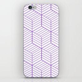 ZADA ((royal purple)) iPhone Skin