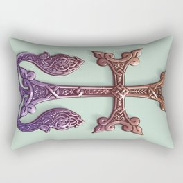 Celtic Cross II Rectangular Pillow