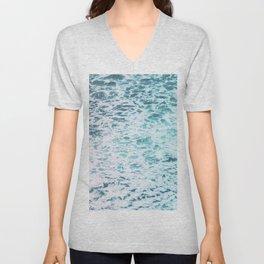 Faded Waves Unisex V-Neck