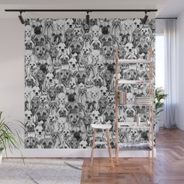 just dogs Wall Mural