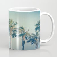 palms Mugs featuring Palms by Laura Ruth