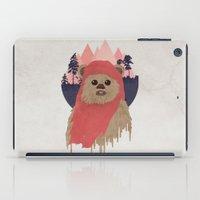 ewok iPad Cases featuring Ewok by Robert Scheribel