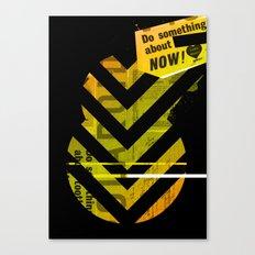 Spit Canvas Print