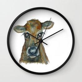 Little Calf Wall Clock
