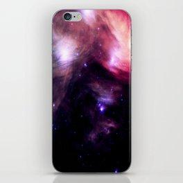 Galaxy : Pleiades Star Cluster nebUlA Purple Pink iPhone Skin