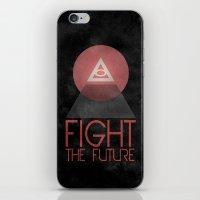 illuminati iPhone & iPod Skins featuring Illuminati by Ed Burczyk