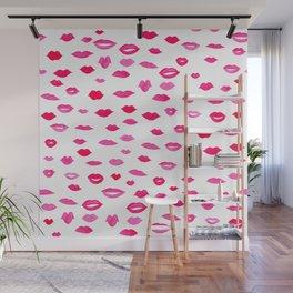 Kiss Kiss Bang Bang Wall Mural