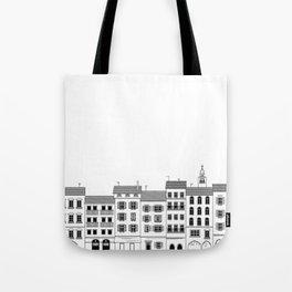 Italian city drawing Tote Bag