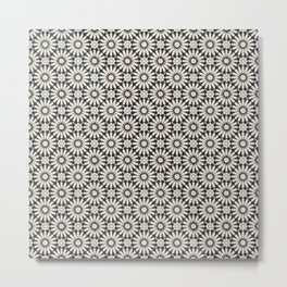 -A20- Floral Alhambra Traditional Moroccan Artwork. Metal Print