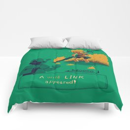 a wild link appeared Comforters