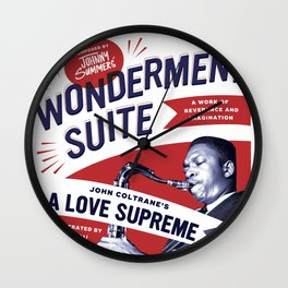 A Love Supreme Wall Clock