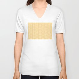 Imperfection: Three (Golden Triangles) Unisex V-Neck